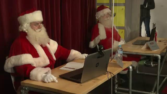 Primul Crăciun din Pandemie. Întâlnirile copiiilor cu Moșul se mută în online