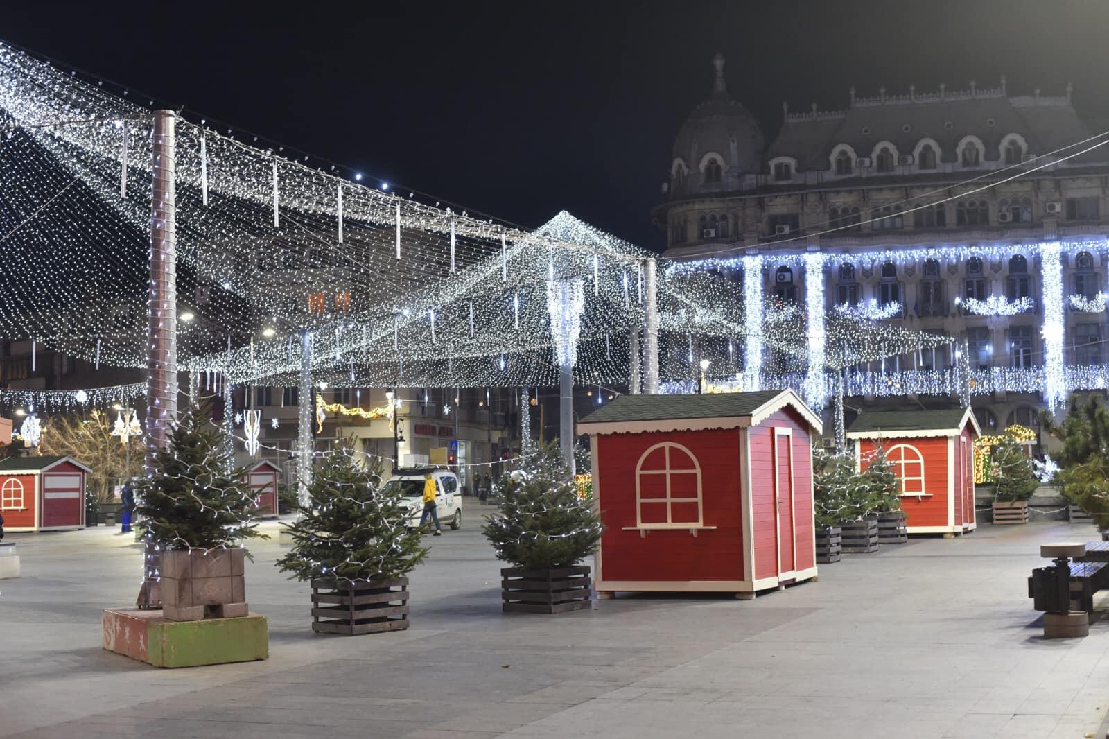 Târgul de Crăciun de la Craiova, închis la o oră după inaugurare. Reacția primarului Olguța Vasilescu