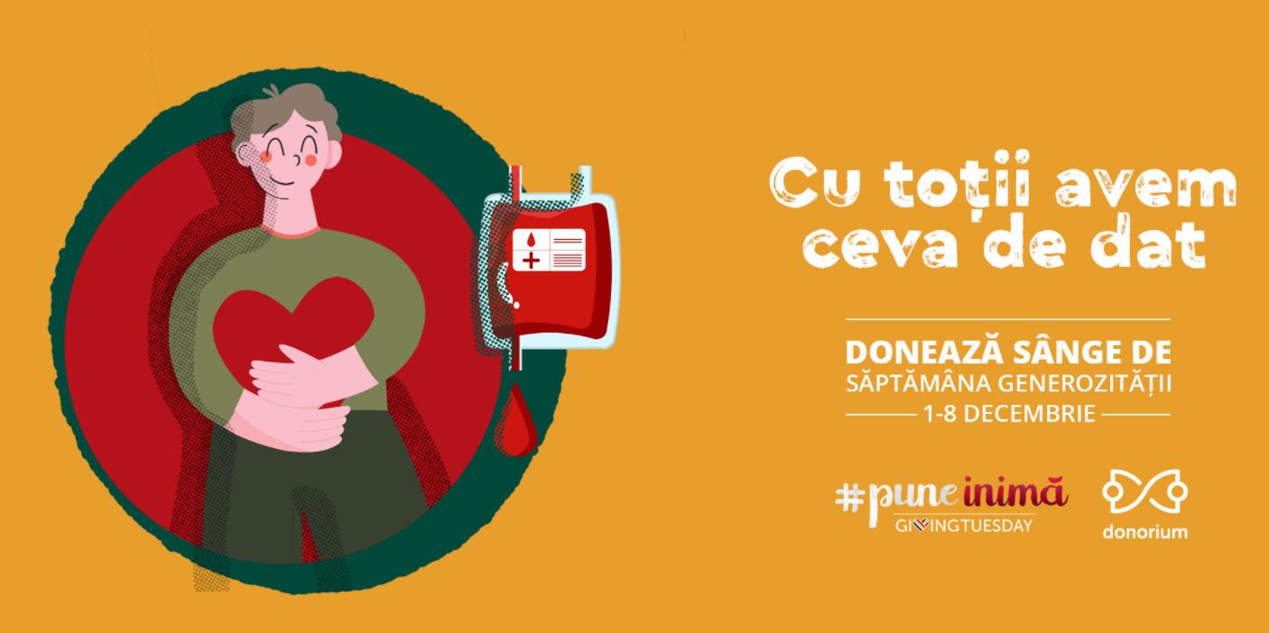 iLikeIT. Săptămâna generozității în România este în 1-8 decembrie: givingtuesday.ro