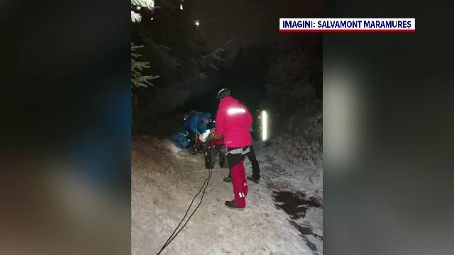 Un turist a ajuns la spital, după ce s-a rănit grav în timpul unei drumeții pe munte