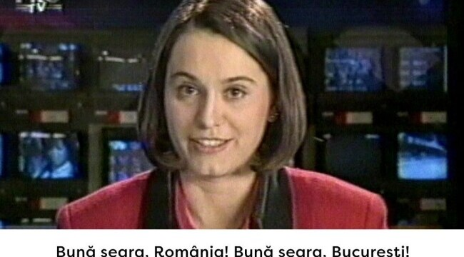 VIDEO EXLUSIV: Primul jurnal Stirile ProTV prezentat de Andreea Esca pe 1 decembrie 1995. Care erau stirile