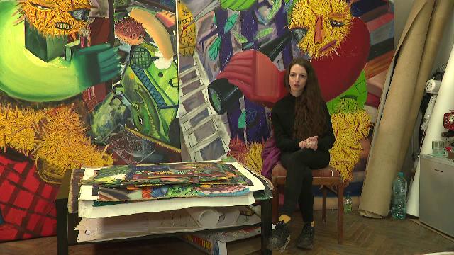 Tincuța Marin, un artist de 25 de ani, a atras atenția criticilor de artă. Cum a transformat urâtul în frumos
