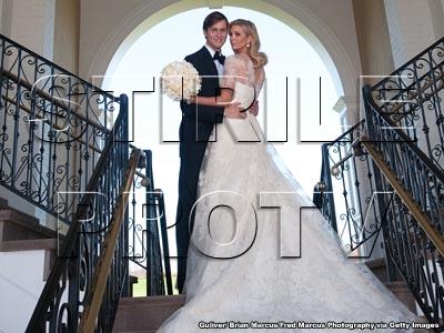 Ivanka Trump s-a maritat! Rochie de mireasa spectaculoasa, 500 de invitati
