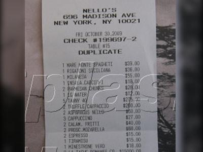 Roman Abramovici a dat 47.000 de dolari la restaurant. L-a