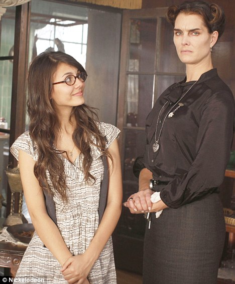 Brooke Shields, in rolul unei menajere romance intr-un lungmetraj