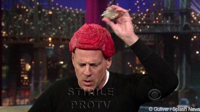 Bruce Willis o ia peste picior pe Lady GaGa. Si-a pus carne de vita in cap!