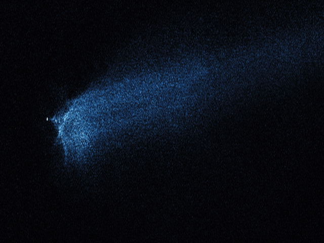 Premiera! Coliziunea dintre doi asteroizi surprinsa de Hubble! FOTO