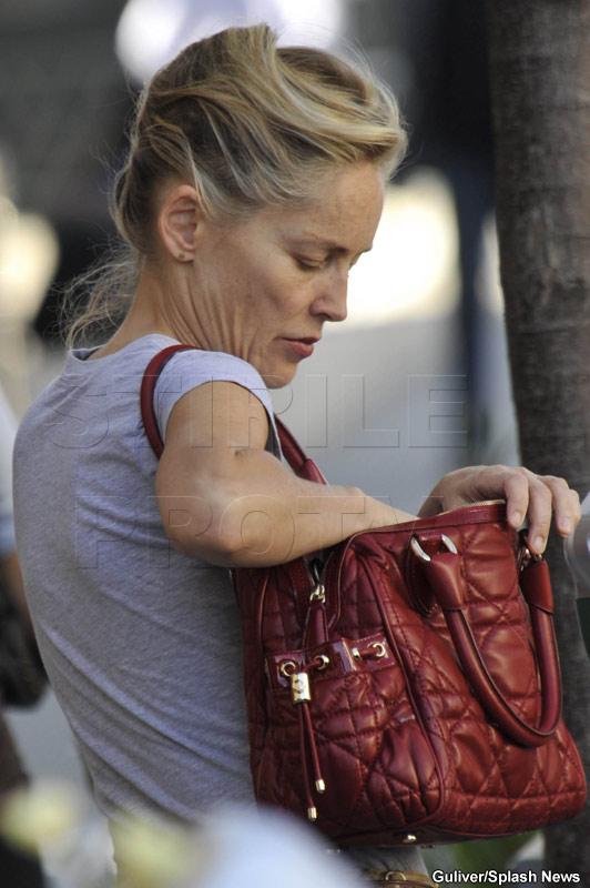 Adio, femeia fatala! Sharon Stone, plina de riduri si fire albe