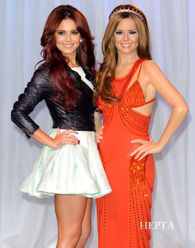 Cheryl Cole la dublu: iti dai seama care e cea reala?