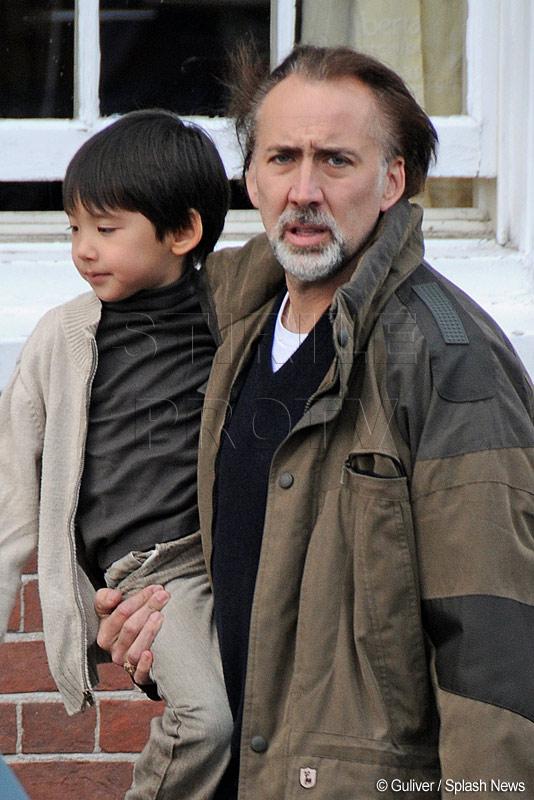 Nicolas Cage ar putea fi acuzat de abuz. Si-a scapat copilul din brate
