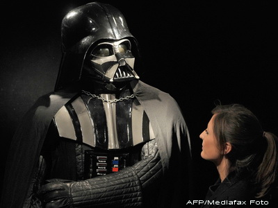 Strangeti bani: costumul lui Darth Vader, scos la licitatie, la Londra