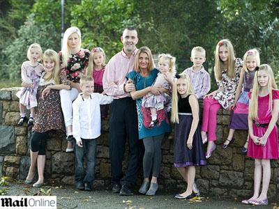 Cel mai curajos sau dus cu pluta? Se insoara cu o femeie cu 15 copii!