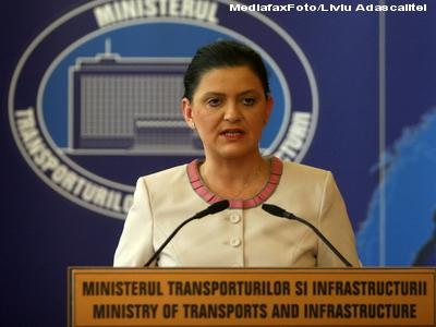 Anca Boagiu: Costurile de intretinere a unor drumuri sunt mai mari cu 30% decat in mod normal