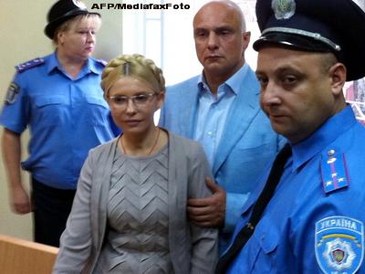 Din inchisoare, Iulia Timosenko indeamna la rasturnarea regimului presedintelui Ianukovici