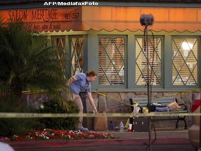 Carnagiu intr-un coafor din Los Angeles. Opt persoane au fost impuscate mortal de un barbat