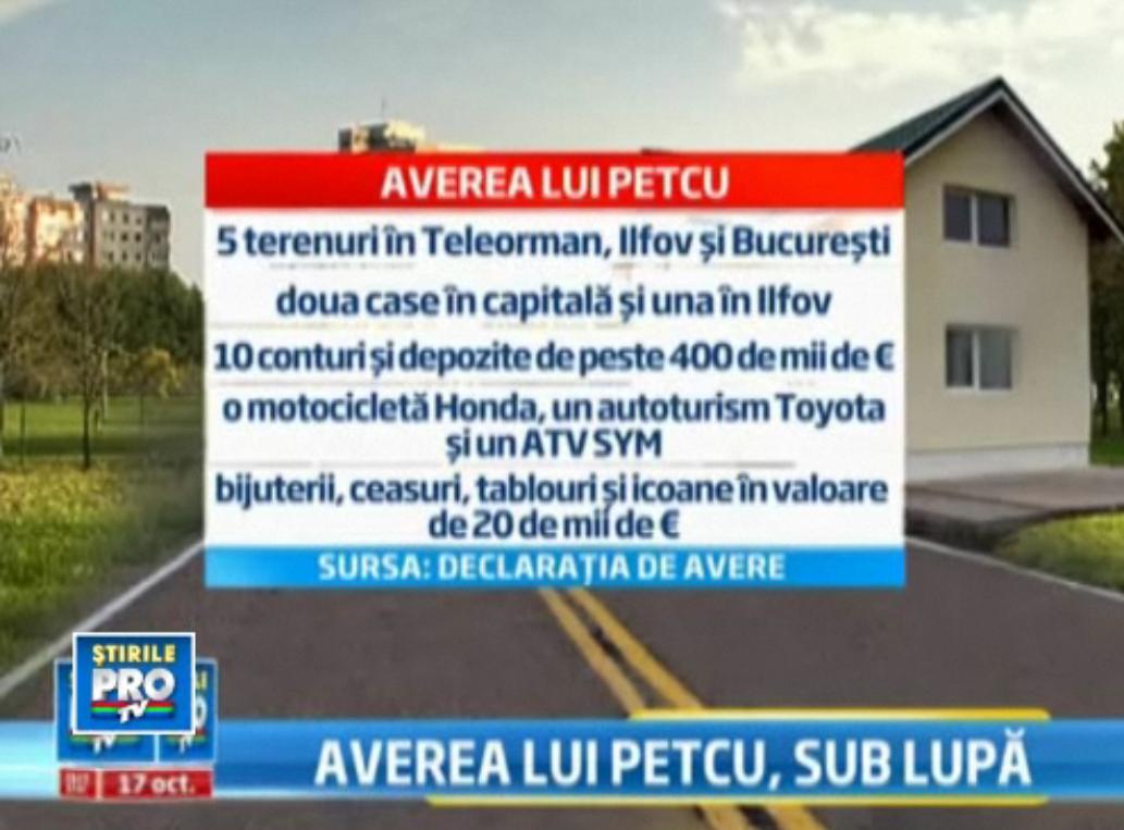 ANI: Sindicalistul Marius Petcu nu poate justifica peste 700.000 de euro din avere