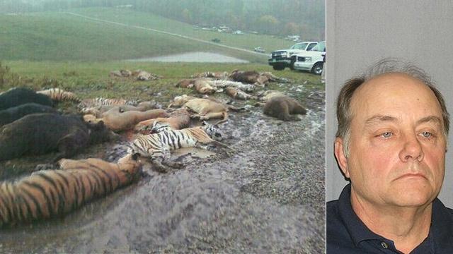 Masacru in Ohio. 48 de animale exotice, ciuruite de trupele SWAT si serifii locali