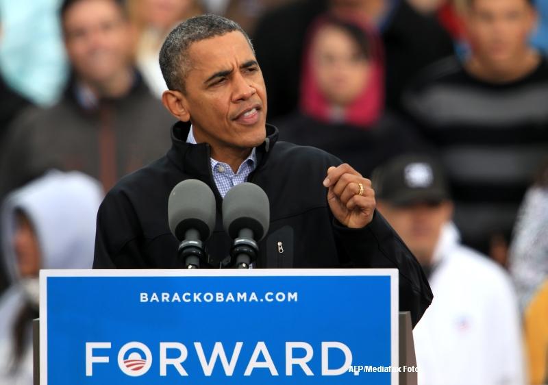 Barack Obama il acuza pe Mitt Romney ca a mintit in dezbaterea televizata
