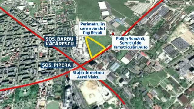 Despagubire de 15 ori mai mare pentru Gigi Becali, decat cea oferita initial de primaria Capitalei