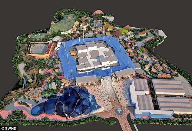 Paramount ridica langa Londra un parc de distractii de 2.5 miliarde euro: