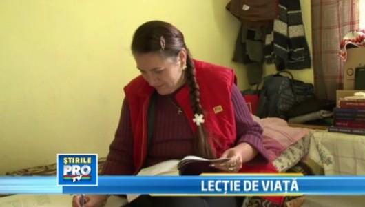 O invatatoare din Alba traieste intr-o camera din scoala pentru ca nu vrea sa-si paraseasca elevii