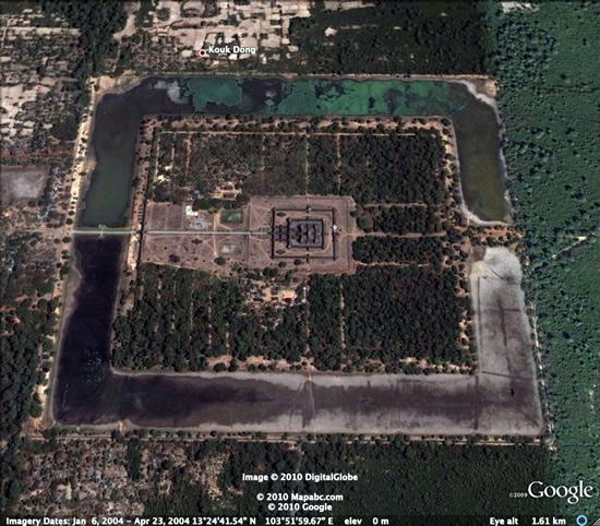Secretul unui templu antic dezvaluit de Google Earth. Oameni de stiinta: