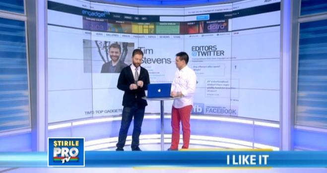 Tim Stevens de la Engadget a dezvaluit secretele noului iPad Mini la iLike IT cu George Buhnici