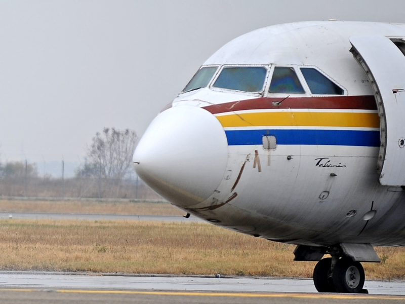 Avionul presedintelui georgian Mihail Saakasvili, intors de urgenta pe Otopeni