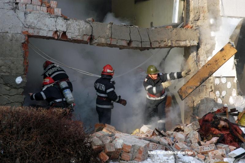 Explozia produsa in blocul din Floresti a fost provocata intentionat