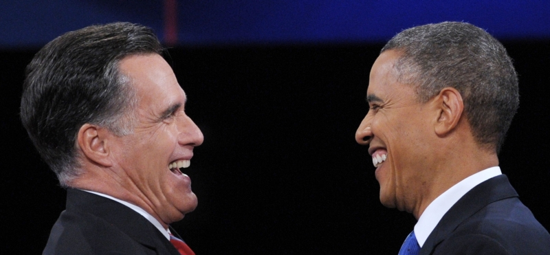 Alegeri SUA 2012. Sondajele arata ca Barack Obama si Mitt Romney sunt umar la umar