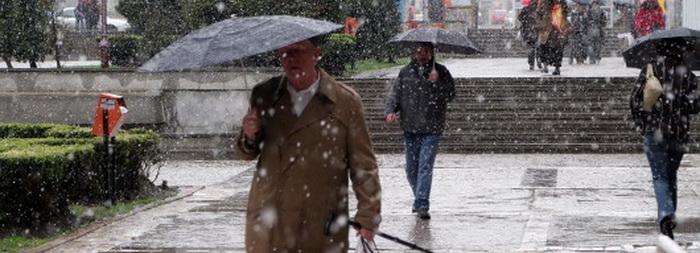 AVERTIZARE METEO: Vreme rece, ploi si ninsori in toata tara. Unde ar putea fi probleme in TRAFIC