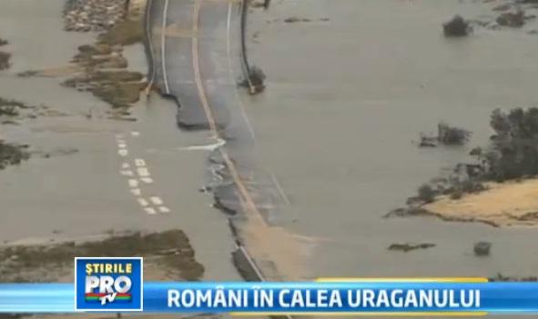 Romanii din New York, despre uraganul Sandy:
