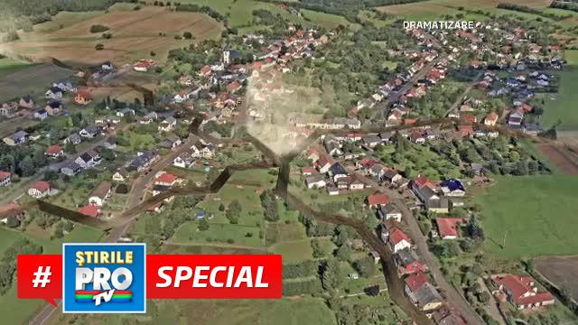 SIMULARE: Cum ar arata zona lovita de 77 de cutremure in cazul unei scufundari in bloc a pamantului