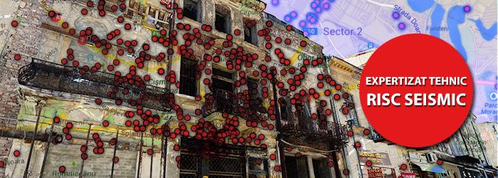 Harta INTERACTIVA a imobilelor cu risc seismic din Bucuresti. Care sunt cele mai periculoase zone