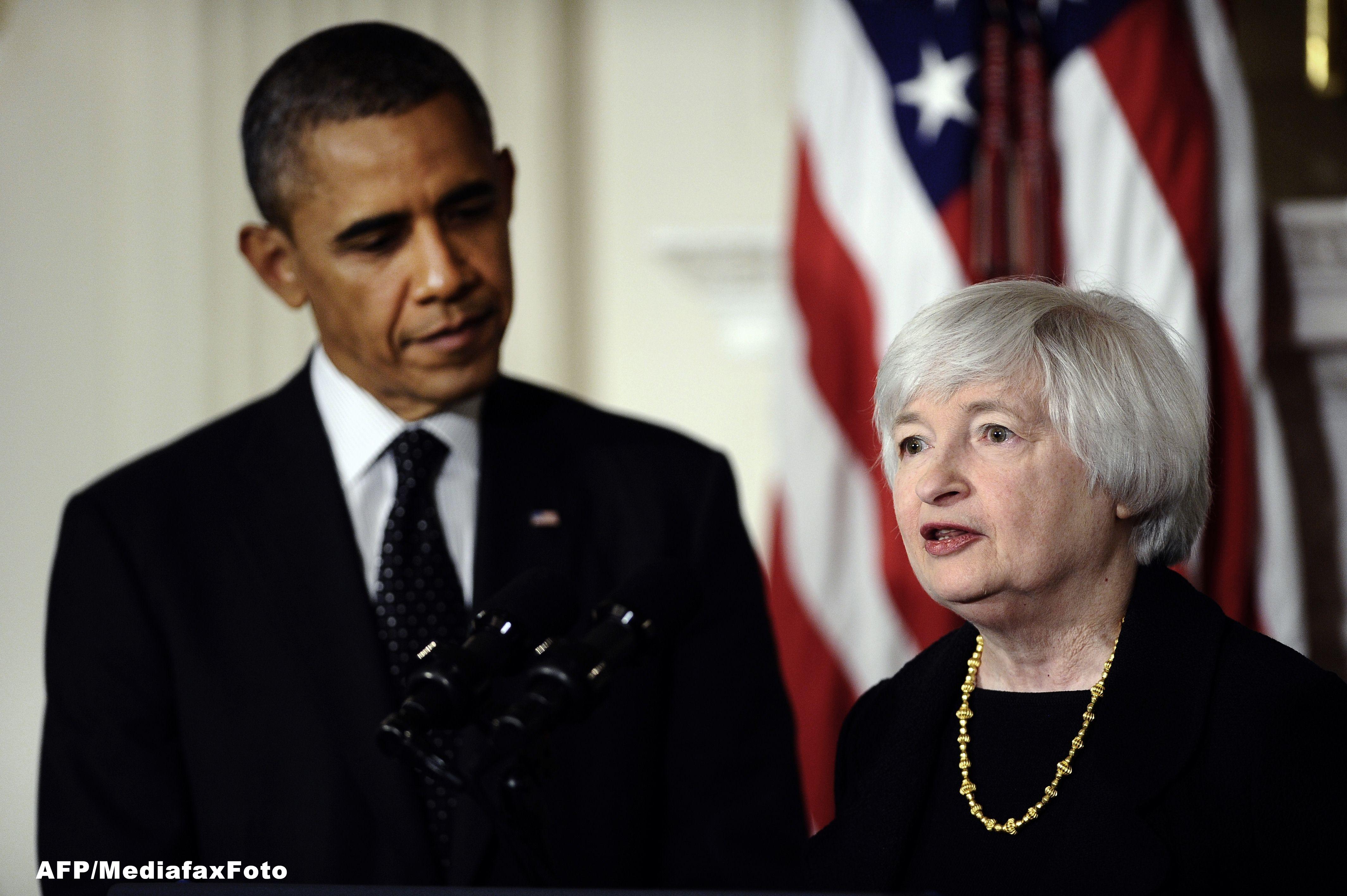 Analiza Reuters. Janet Yellen, presedintele Fed, devine cea mai puternica femeie din istoria SUA