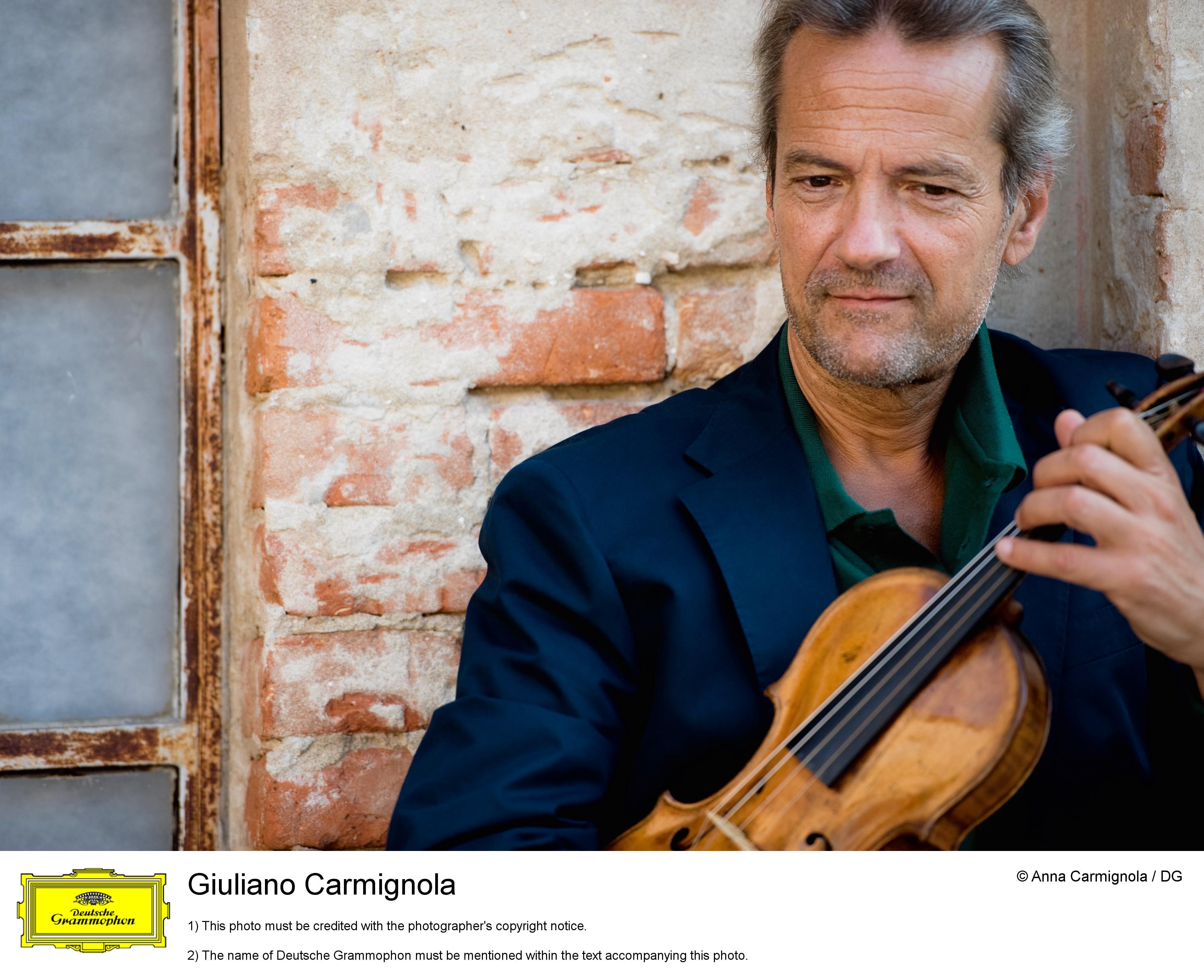 De ziua Regelui Mihai, violonistul Giuliano Carmignola revine pe scena Ateneului Roman
