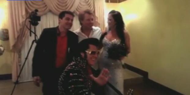 O australianca si-a dorit sa fie dusa la altar de Jon Bon Jovi si dorinta i s-a implinit. VIDEO
