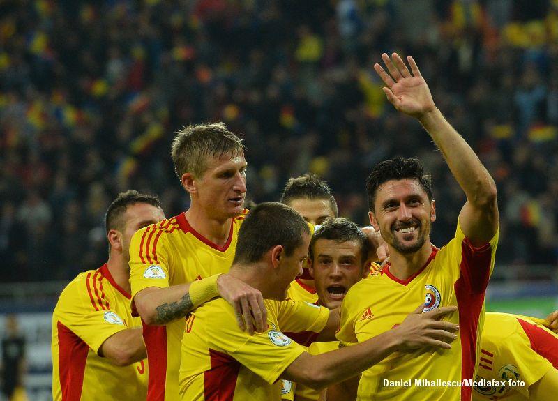 ROMANIA - ESTONIA 2-0.
