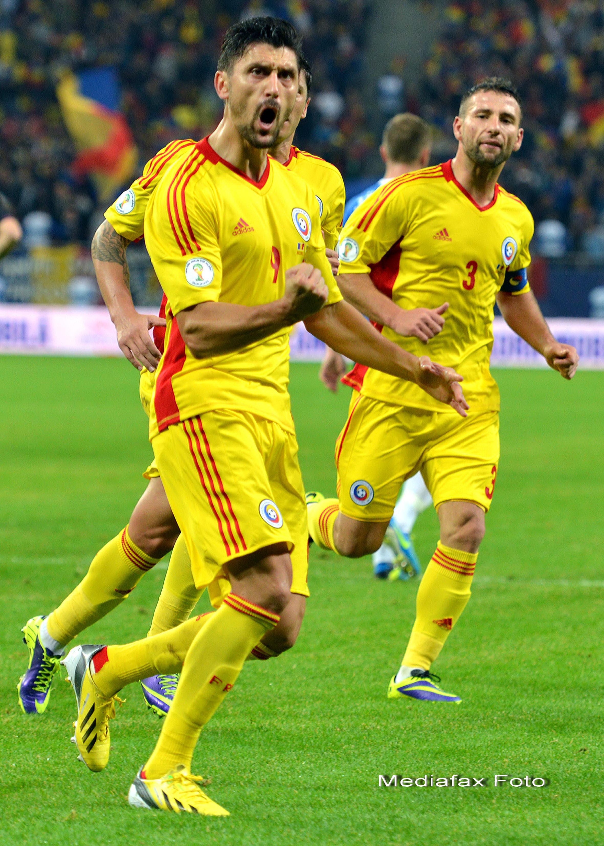 ROMANIA - ESTONIA 2-0. Ciprian Marica: Sunt mandru de ce am realizat la nationala