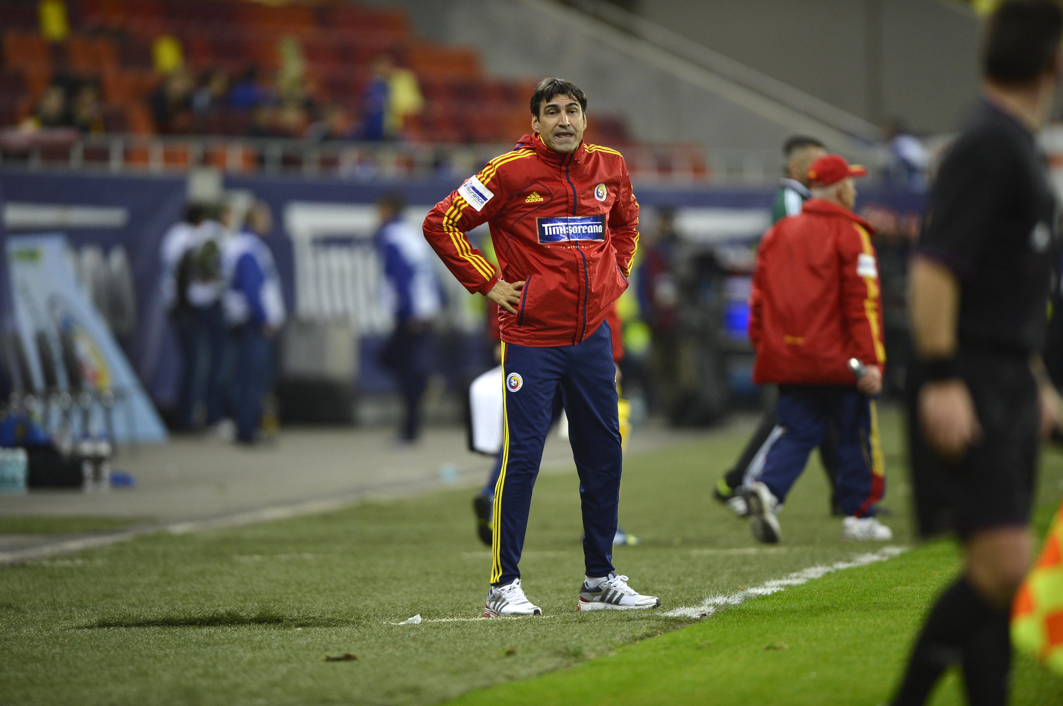 ROMANIA - ESTONIA 2-0. Victor Piturca a devenit selectionerul roman cu cele mai multe victorii