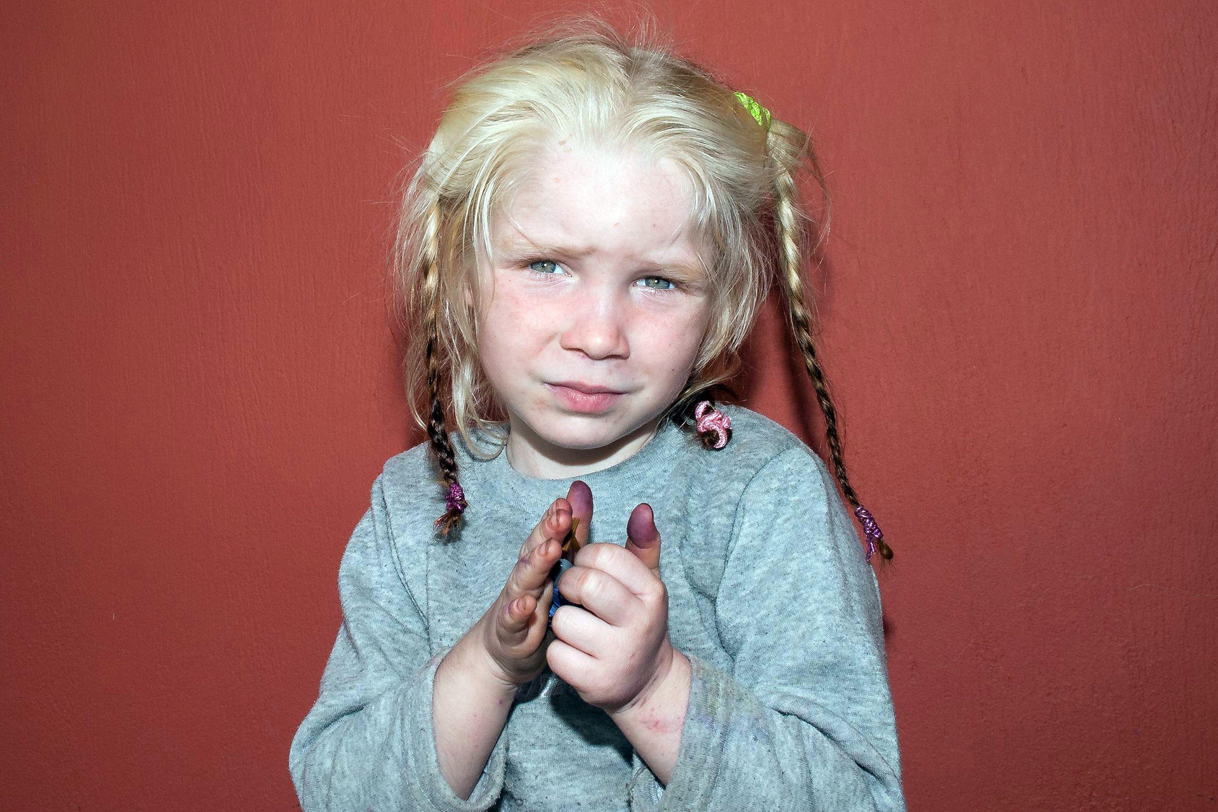 Primele imagini cu tiganii greci care au rapit-o pe Maria,
