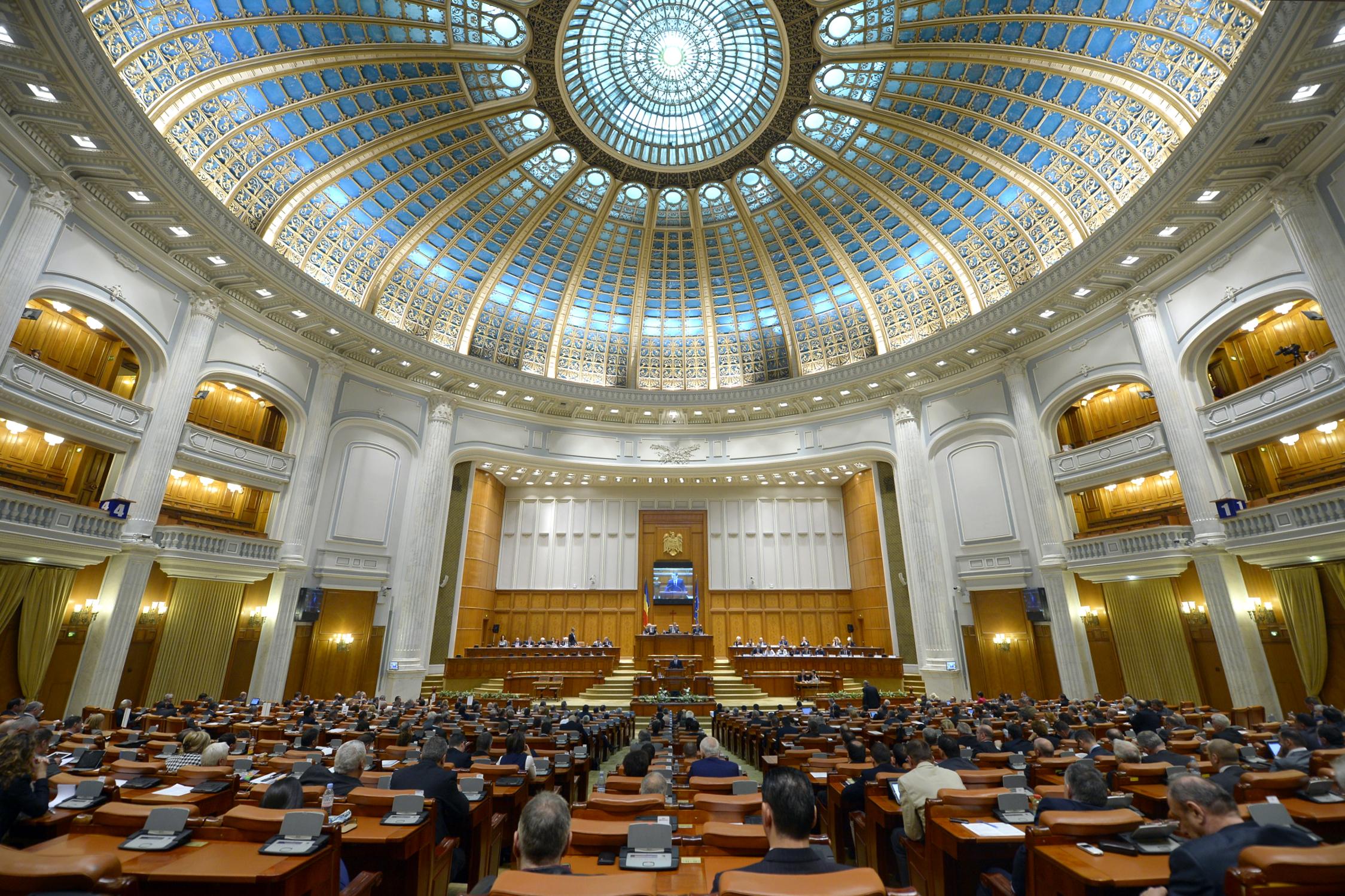 Internship la Camera Deputatilor. 50 de studenti si masteranzi vor putea lucra cu parlamentarii
