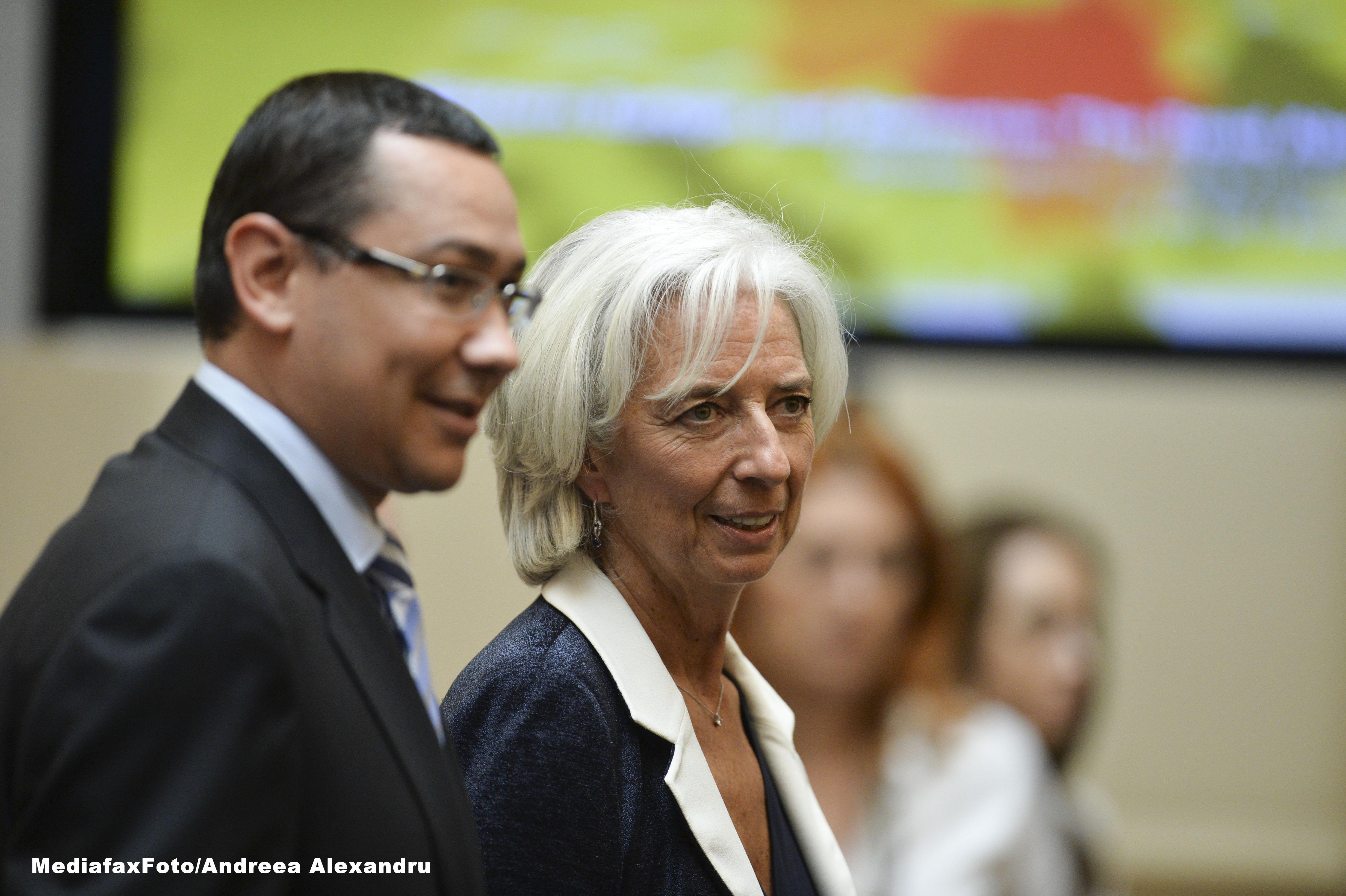 Ponta: FMI ne-a transmis ca e mai bine sa refacem procedura la CFR Marfa decat sa fie contestata