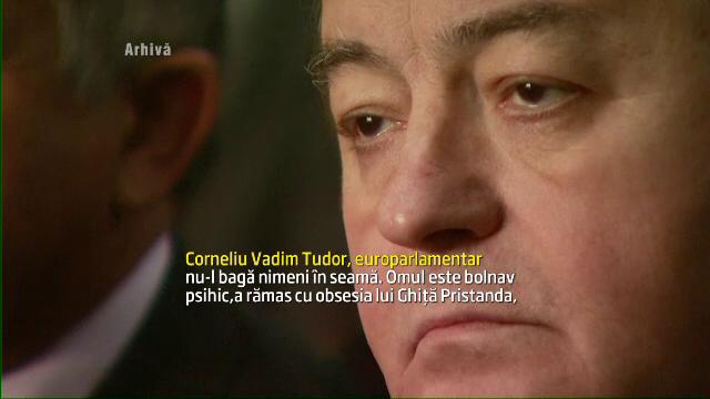 Scandal cu injurii si amenintari in instanta intre Vadim si Funar, din cauza unui steag istoric