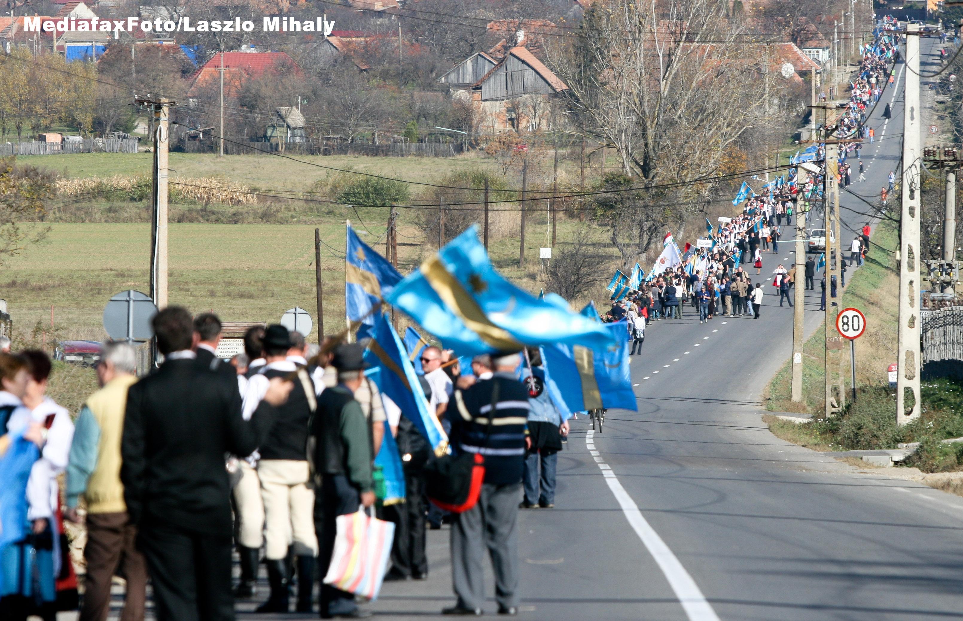 Deputatul PSD Bogdan Diaconu a depus plangere penala impotriva organizatorilor marsului secuilor