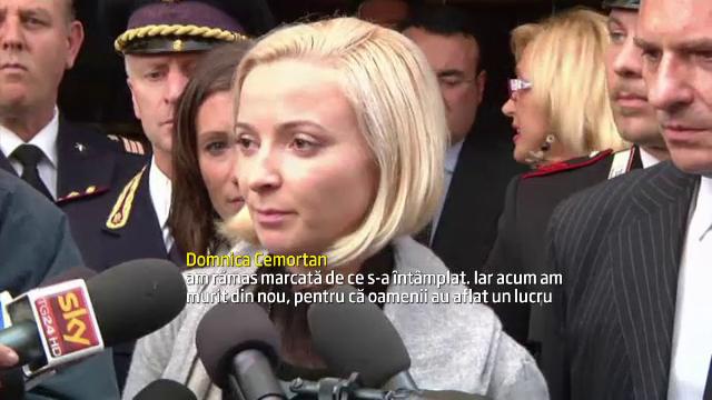Cum l-a aparat dansatoarea din Moldova pe capitalul vasului Costa Concordia intr-o aparitie la TV