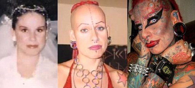 Femeia vampir care si-a implantat