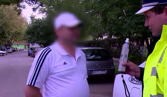 Explicatia unui sofer din Oradea prins baut la volan, dupa ce a plonjat intr-u parau: