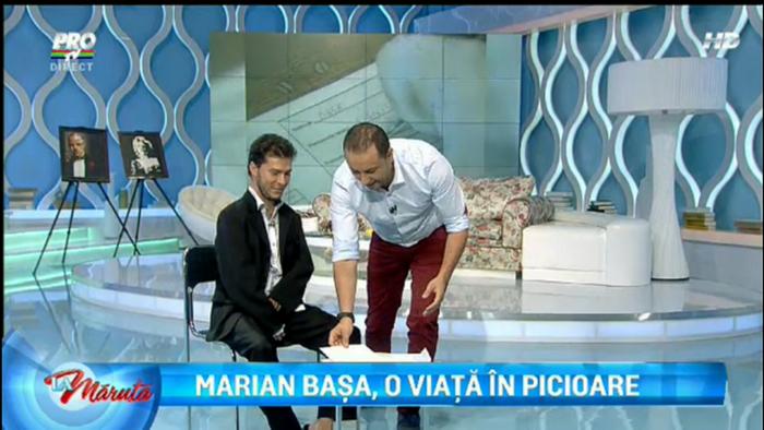 Marian Basa, tanarul care