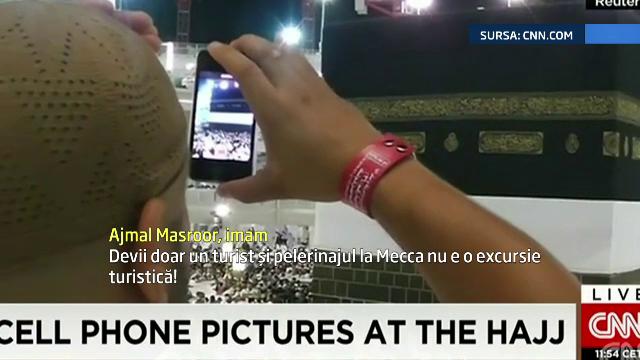 Pelerinajul de la Mecca, cuprins de nebunia
